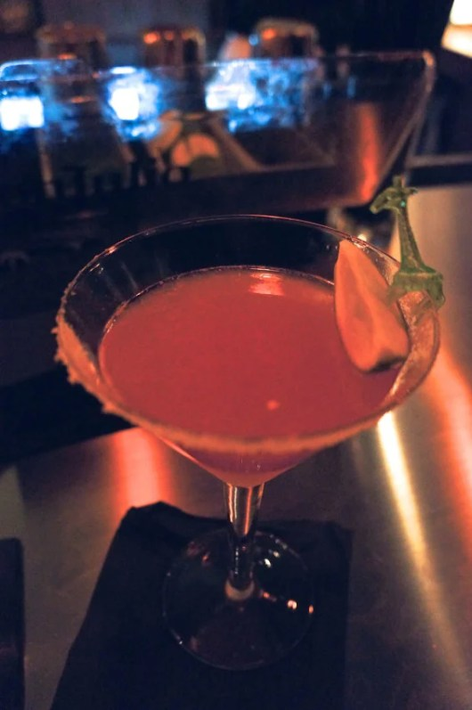The tequila-based D.B. Cooper—a velvet hammer in a glass