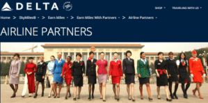 Delta Airlines Partners