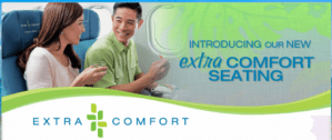 Hawaiian Extra Comfort seats are available on its A330
