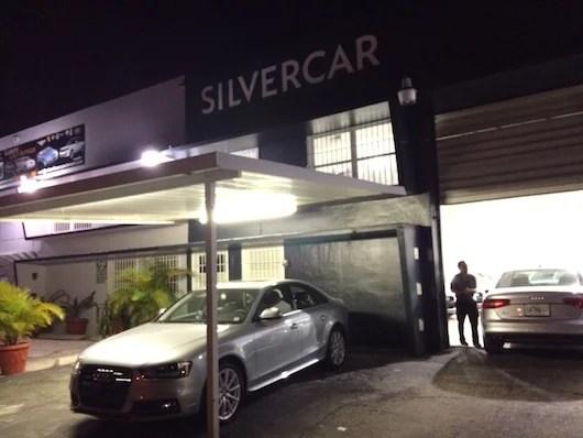 SilverCar MIA's drop-off headquarters.
