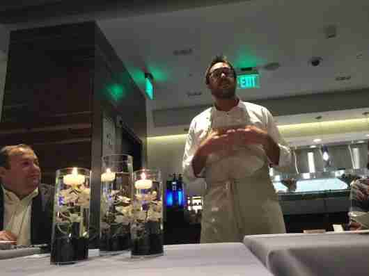 Christopher Kostow, chef at The Restaurant at Meadowood