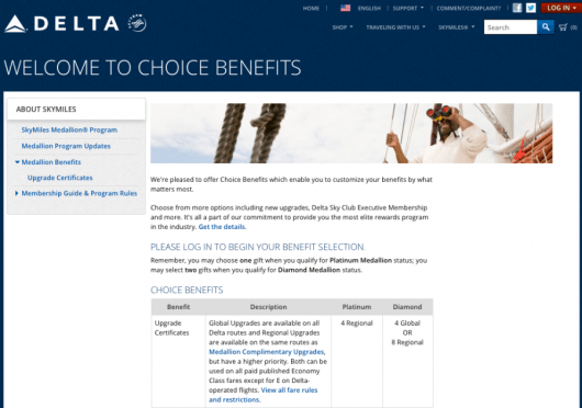 Delta gives you benefits for qualifying for their top two levels of status; why don't hotels follow suit?