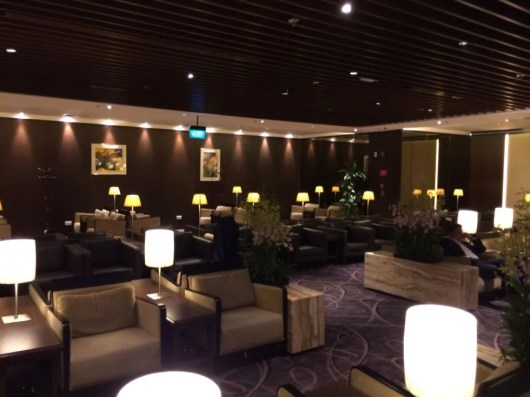 I've spent time in the Singapore Airlines Krisflyer lounge