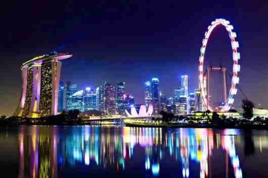 The Singapore Flyer. Photo courtesy of Shutterstock.