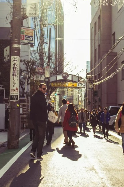 Tokyo is so clean that it sometimes looks like a movie set.