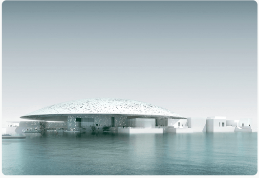 The Louvre will open up its second location in Abu Dhabi this year.
