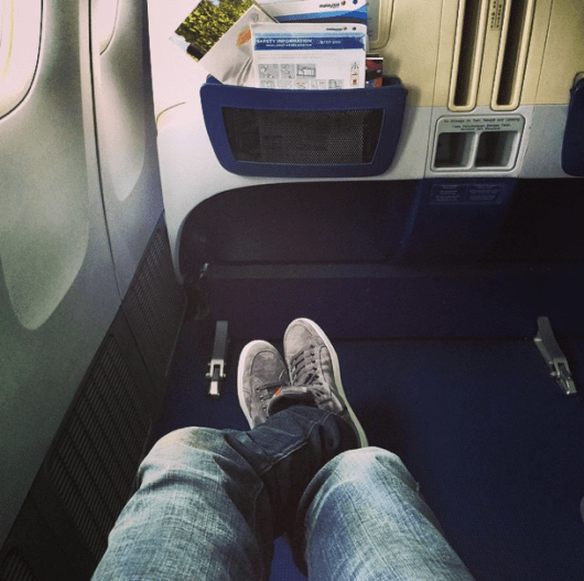 At least there was decent legroom.