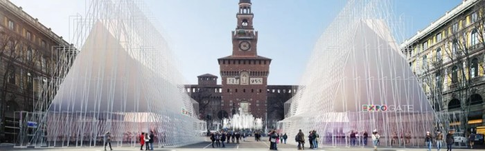 The Milan Expo Gate - over 140 countries will be participating.