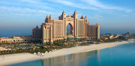 Dubai's five-star Atlantis was the inspiration for its sister property in the Bahamas.