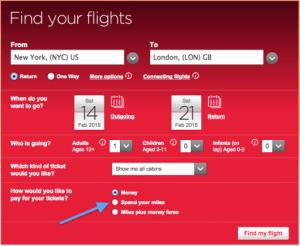 Virgin Atlantic search