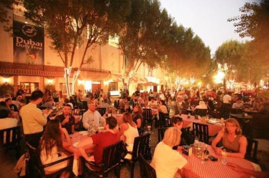 Dubai's Irish Village is a popular hangout for expats.