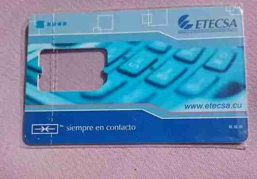 Our new Cuban SIM card, no data available here!