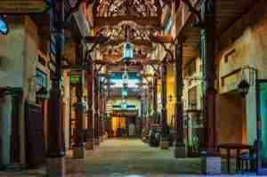 The splendid interior of the Madinat Souk. Photo courtesy of Shutterstock.