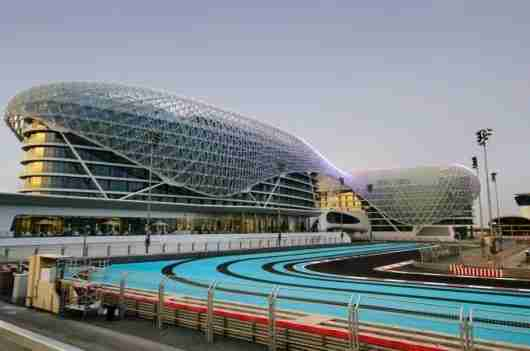 Yas Marina Circuit. Photo courtesy of Shutterstock.