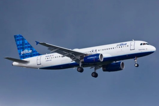 JetBlue double points until March. Photo courtesy of Shutterstock.