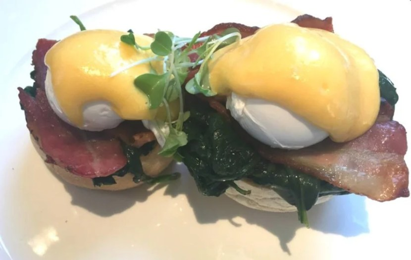 Eggs Benedict at The Northall
