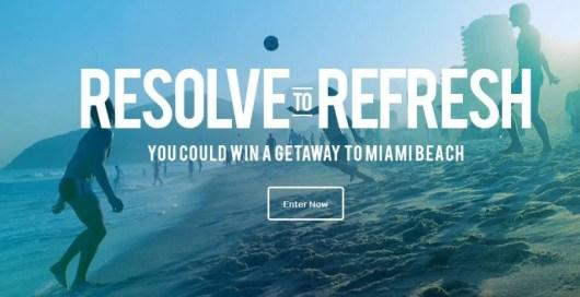 Win a trip to Miami Beach