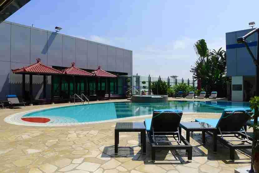 Rooftop Pool Bar, Singapore Changi Airport