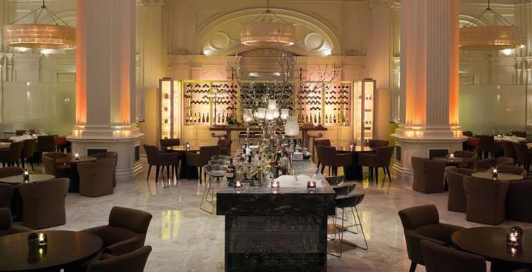 The 1901 Restaurant at the Andaz Liverpool Street