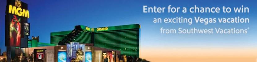 Win a long weekend in Las Vegas