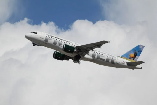 Frontier Airlines is looking into the incident. Photo courtesy of Shutterstock.