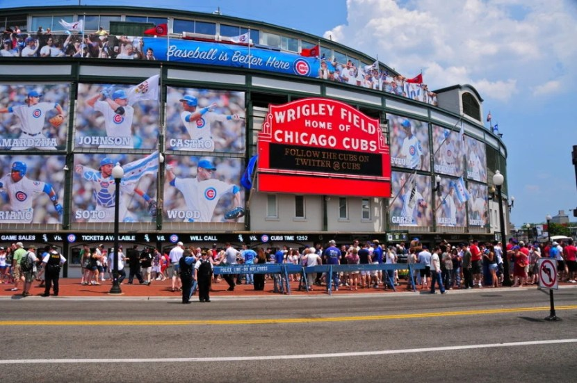 Wrigley Field, home of the Chicago Cubs (Photo courtesy of Richard Cavalleri / Shutterstock)