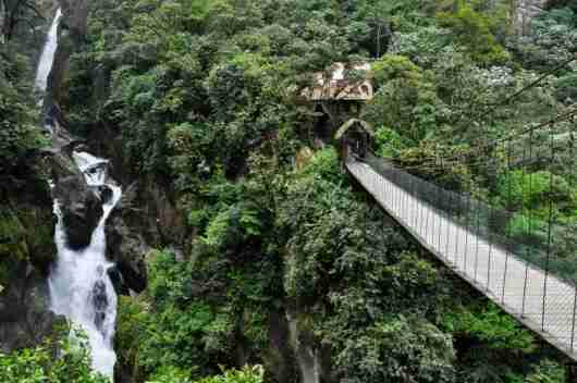 Baños, Ecuador is the gateway to the Amazon. Photo courtesy of Shutterstock.