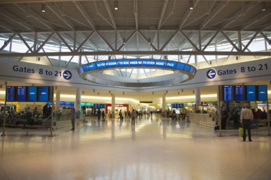 JetBlue's T5 At JFK. Photo courtesy of Shutterstock