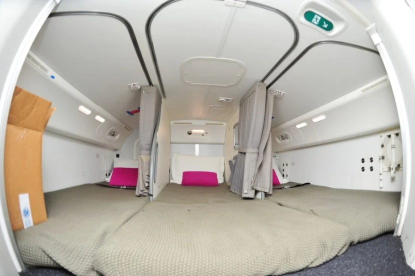 Crew bunks are a good place to indulge in some nookie—IF you're part of the crew. Photo courtesy of Shutterstock.