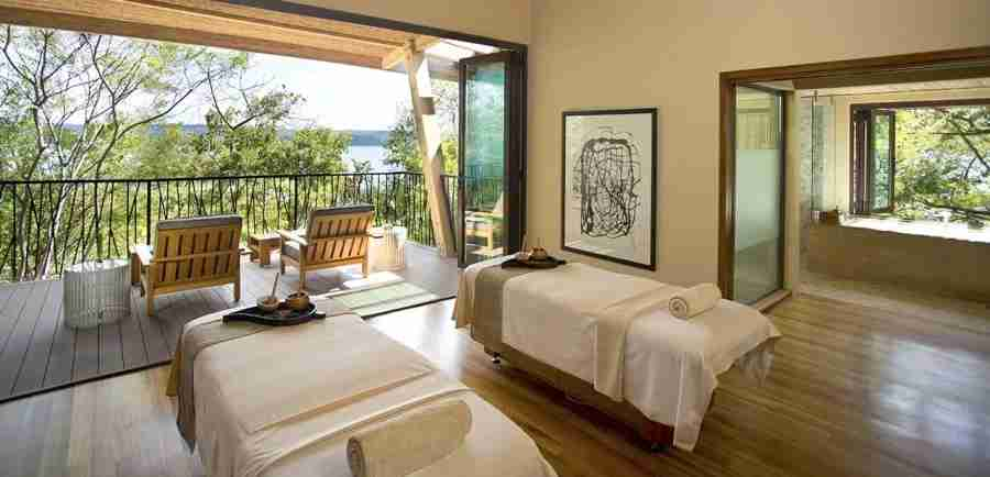 Consider a luxurious spa treatment at the Andaz Papagayo