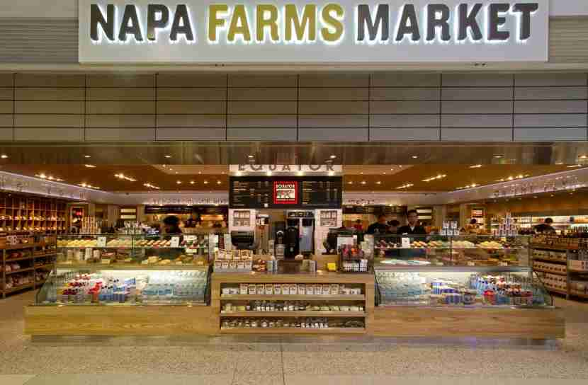 Napa Farms Market in Terminal 2