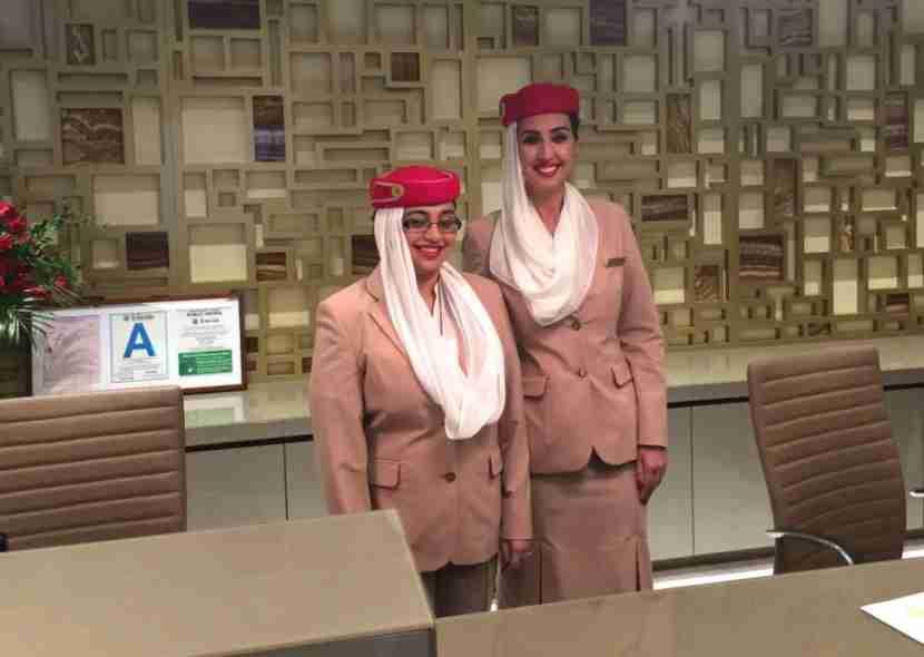emirates-lounge-lax-flight-attendants-melanie-wynne