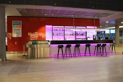 kef airport. nord cafe international kef airport e