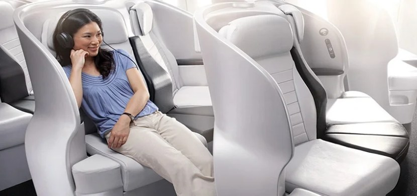 Air New Zeland's Premium Economy Spaceseat makes a 14 hour flight bearable.