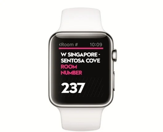 Check out the new SPG App for Apple Watch