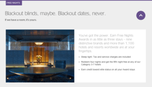 "Many chains (including SPG) advertise ""No blackout dates,"" but do they actually mean it?"