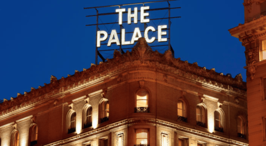 The Palace San Francisco is increasing from a Category 5 up to a Category 6.