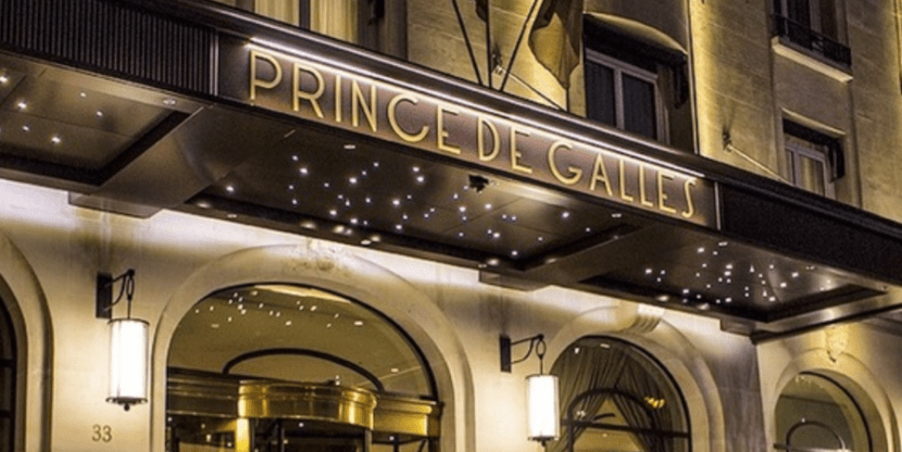 The Prince de Galles is one of TPG