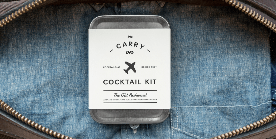 Carry On Cocktail Kit — Mix Your Own Drinks at 30,000 Feet