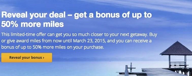 United 50 percent bonus