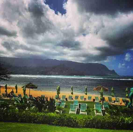 With Kauai