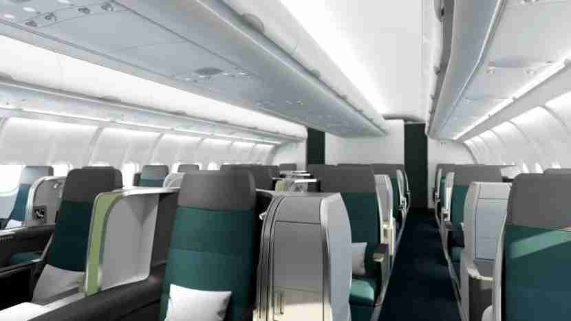 The new Aer Lingus Business class makes for a relaxing flight to Europe.