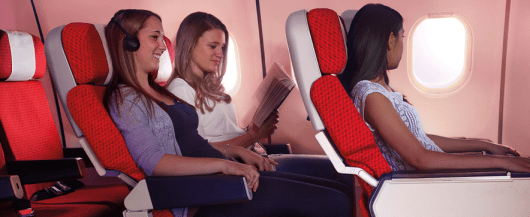 I have flown Virgin Atlantic economy class between the U.S. and London several times, and it's a comfortable way to cross the Atlantic.