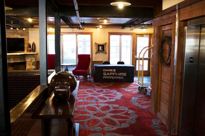 Leigh Rowan's stay at the Silver Baron Lodge was part of a Chase Sapphire Preferred Experience package for Sundance 2015.