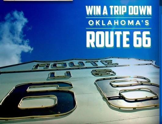 Win a trip down Oklahoma's Route 66