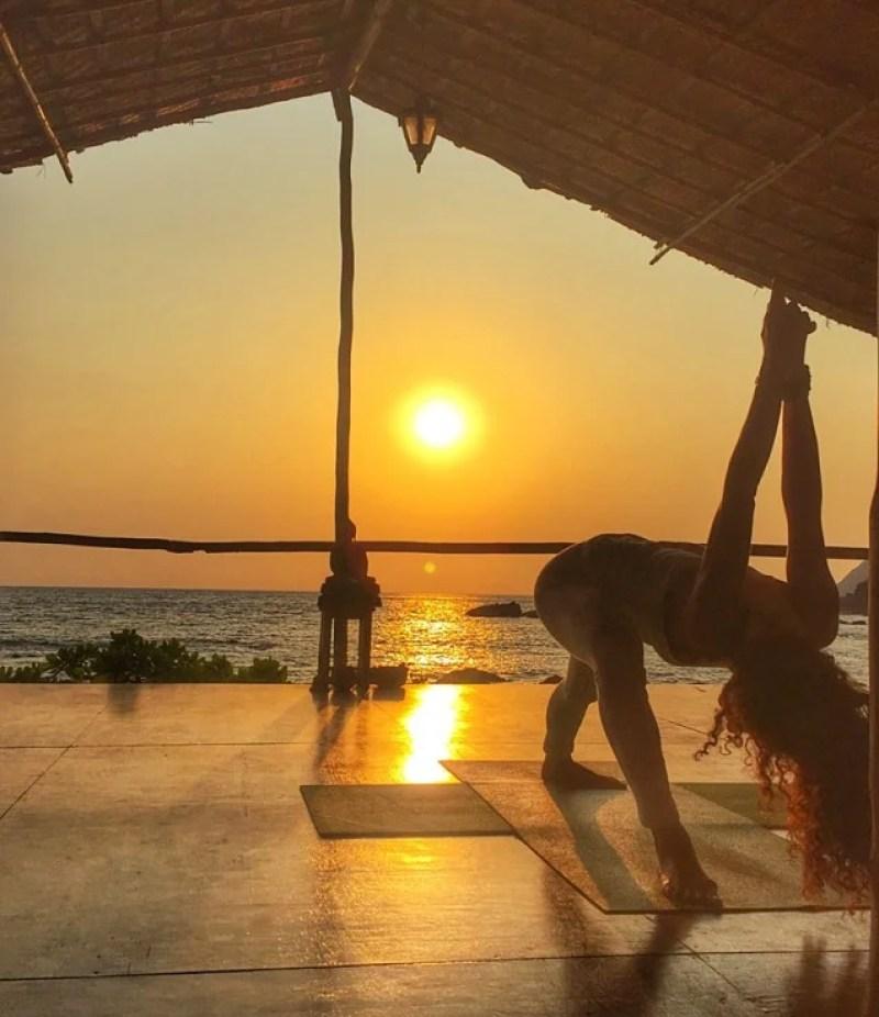 Do something cool, like an Ashtanga Yoga class at Little Cove Yoga Retreat with Nadia Moon Yoga. Photo courtesy of Rachel Wasserman.