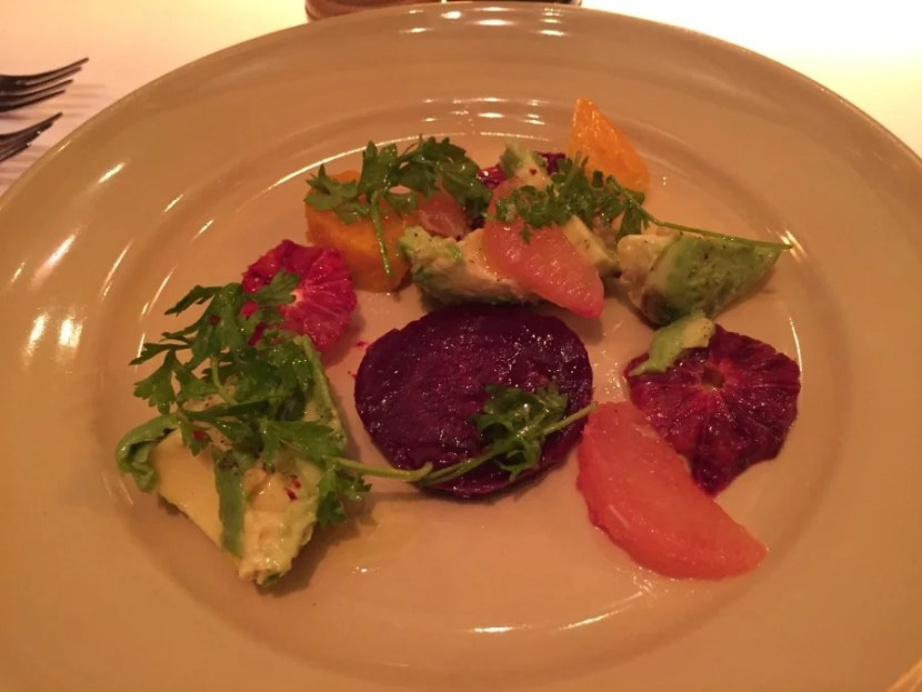 Nothing beats these Chez Panisse beets - a simple presentation with incredible flavor!