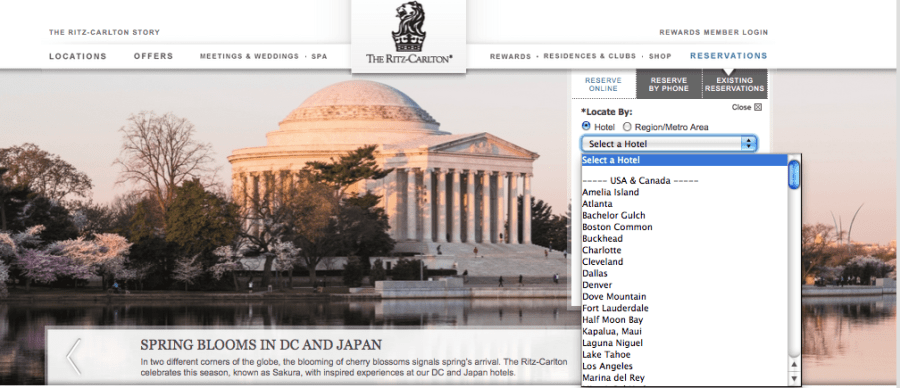 No mention of a Chicago location on the Ritz-Carlton site.