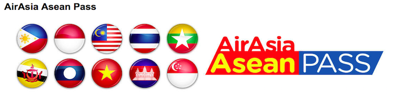 Air Asia's ASEAN pass offers one month of flying for $160.