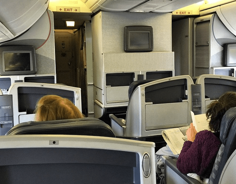 Comparing International Business and First Class on American